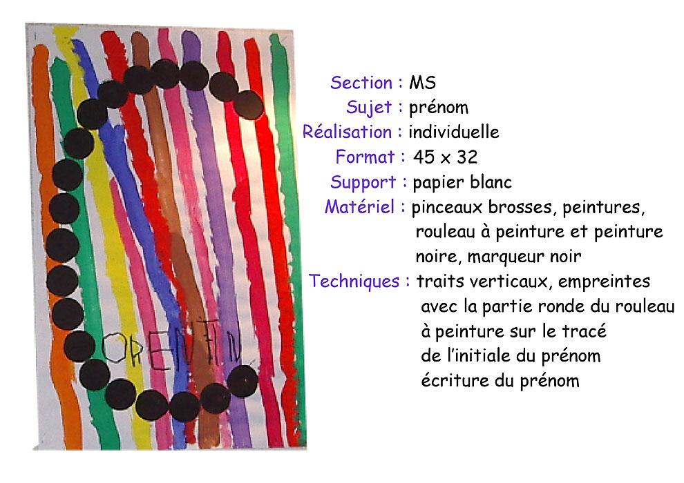 Nombre total d'images: 39 | Dernière mise à jour: 07/05/10 16:39 ...: materalbum.free.fr/Les arts visuels chez Pascale/album/slides/ms...