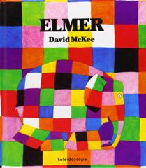 Coloriage Elmer Maternelle.Elmer Sous La Neige