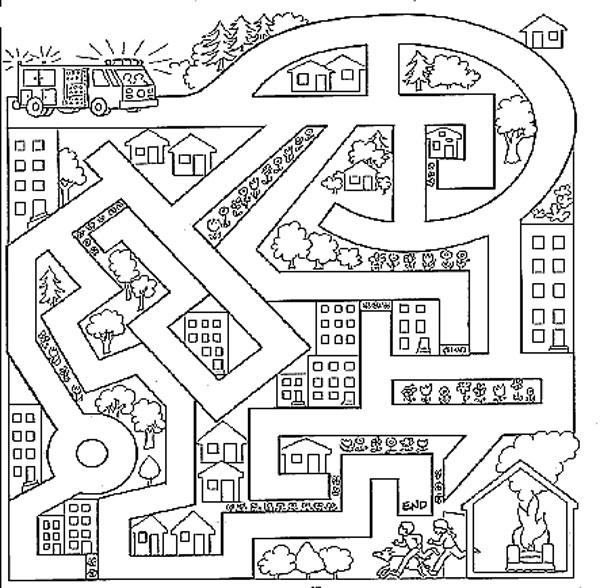 labyrinthe  u00e0 imprimer cp oz93