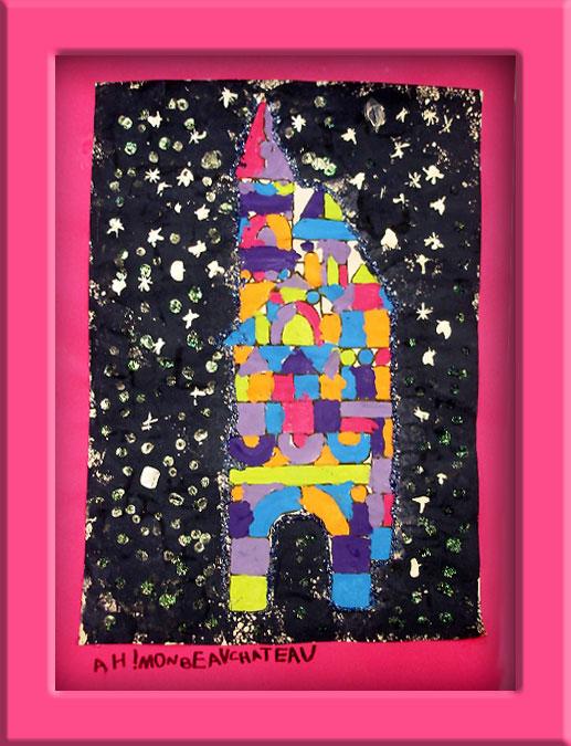 Coloriage Chateau Ps.La Vie De Chateau