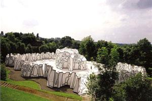 A La Maniere De Jean Dubuffet