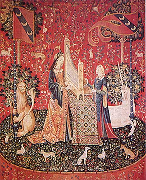 La dame et la licorne - Tapisserie dame a la licorne ...